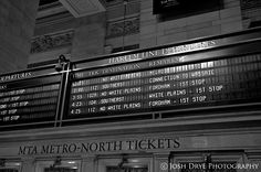 Train Schedules, Grand Central Terminal - Station, New York City, NY
