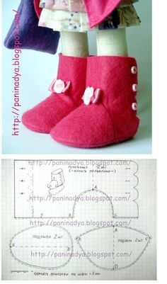 Baby Shoes Pattern Felt Ideas For 2020 Sewing Doll Clothes, Sewing Dolls, Girl Doll Clothes, Girl Dolls, Sewing Diy, Baby Sewing, Barbie Clothes, Diy Clothes, Doll Shoe Patterns