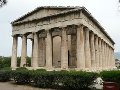 Thiseion, Temple of Hephaestus,  Athens.