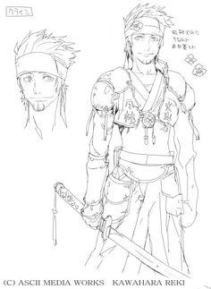 Klein/Image Gallery - Sword Art Online Wiki -- Klein concept art: