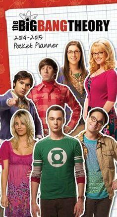 The Big Bang Theory 2014 Pocket Planner