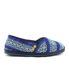 Take a look at the TigerBear Republik Electric Blue Hendrix Slip-On Shoe on #zulily today!