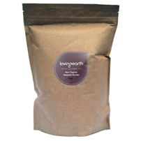 Mesquite powder - high protein, calcium, magnesium, potassium, iron and zinc + rich in amino acid lysine.  Low GI of 25 to help maintain stable blood sugar levels.  Add to smoothies and probably to baking for Eliahn.