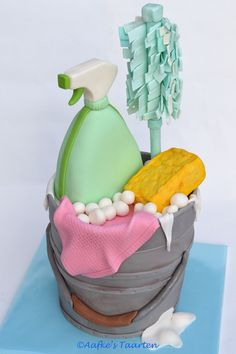 3D-cleaning cake