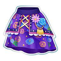 アイカツ フラワーモダンスカート