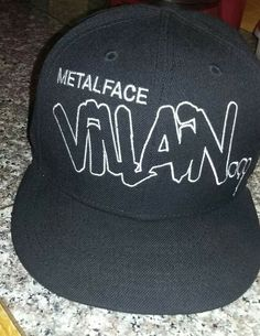 fb9fc80627d For Sale is a like new MF DOOM METAL FACE VILLAIN new era fitted hat size 7  Hat is in great shape and only wore once or twice.