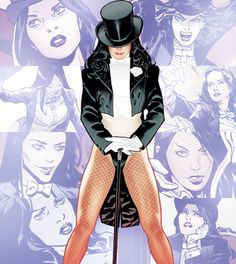 """I'm a magician. And the only fate I accept is the one I control."" - Zatanna"
