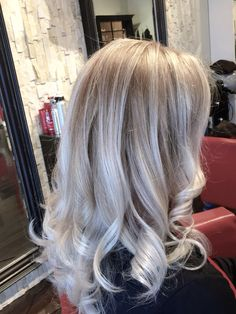 Ice blonde balayage by Salon gardenia  Blond me from schwatzckfe  Ice blonde toner from Blonde me schwatzckfe