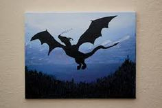 dragon painting acrylic - Google'da Ara