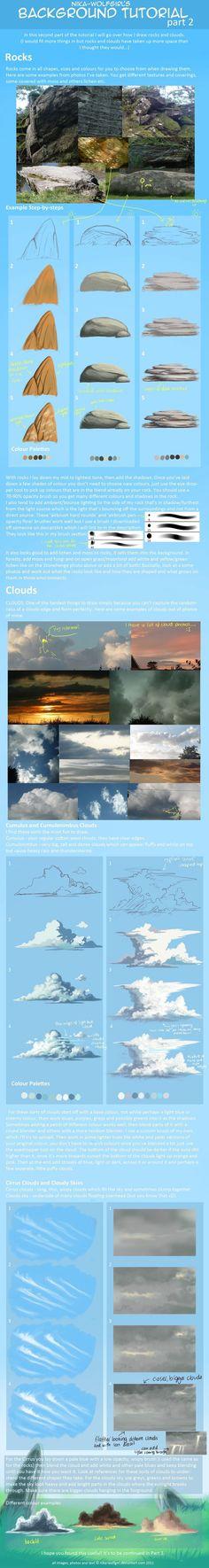 Rochas e nuvens