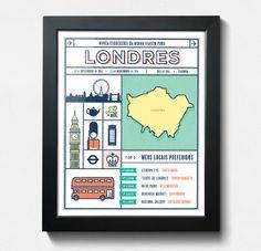 Quadro de Viagem | Londres