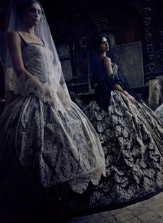 """Dolce & Gabbana Couture"" by Paolo Roversi for Vogue Italia, September 2012"