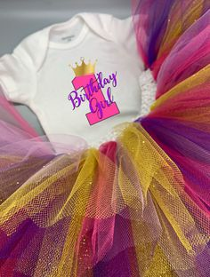 Guess who's turning one? Its time to celebrate in style with a special Birthday Girl onesie® and tutu it. This One Year Old Birthday Girl Baby Girl Onesie® and Tutu Outfit is the Perfect First Birthday Outfit to Celebrate Baby Girl. First Birthday Outfits, Baby First Birthday, Girl Birthday, Birthday Ideas, Birthday Wishes, Tutu Outfits, Tutu Size Chart, How To Make Magic, One Year Old Baby