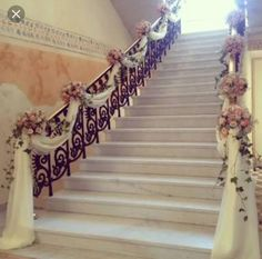 216 Best Stairway Decorations Images Flower Arrangements Stairs