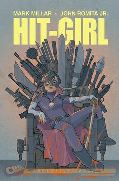 Phil Noto's GAME OF THRONES Inspired Variant For HIT-GIRL #1