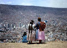 La Paz. Bolivia. Vista de la ciudad desde Alto Pampajasi.1997. Analógica Nikon D70 by César Angel. Zaragoza, via Flickr
