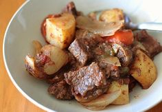 ....I want fall so I can make this delicious Crock Pot Stew!