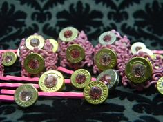 Bullet Booby Pins TaTa Awareness Baubles on Etsy, $10.00