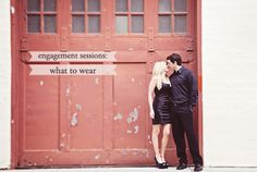Tips on what to wear for an engaement session. #photography #weddings #engagements (Stephanie Court Photography)