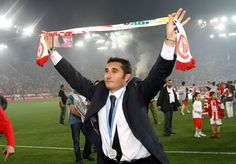 Ernesto Valverde - Olympiacos Dream Team, Athlete, Soccer, Passion, Football, History, Sports, Red, Greek