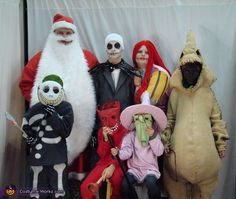 This homemade costume for families entered our 2013 Halloween Costume Contest, and won 2nd place in the Best Family Costume nomination!