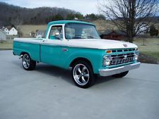 1966 ford f100 car 100746794 429 322 blue oval 39 64 to. Black Bedroom Furniture Sets. Home Design Ideas