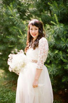 Backyard Picnic Wedding from Lily Glass Photography