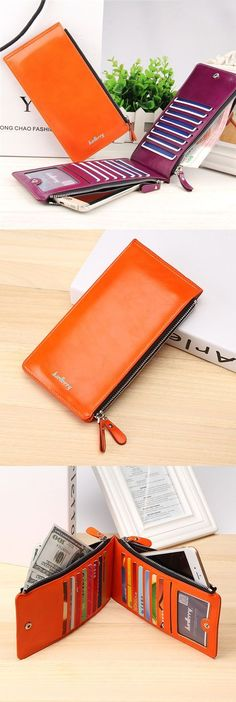 US$11.76+Free shipping. Women's Wallet, Phone Wallets, Card Holder, Coin Bags, Long Purse. Waxy, Ultrathin, Leather, Color:Black, Blue,Coffee, Brown, Red, Green, Orange, Rose Red. - Sale! Up to 75% OFF! Shop at Stylizio for women's and men's designer handbags, luxury sunglasses, watches, jewelry, purses, wallets, clothes, underwear & more!