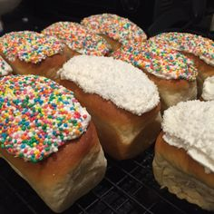 Sweet Bun Dough  Make donuts using this dough (half a batch makes 5)