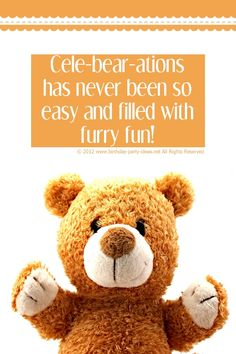 Build a Bear Birthday Parties #build a bear #bear #birthday #party #ideas #quotes #saying #poems