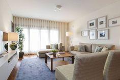 Sala Comum_Zona de Estar : Salones de estilo moderno de Traço Magenta - Design de Interiores