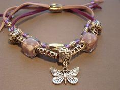 eBracelets Ceramic Stone & Wood Beads (faux) Leather Bracelet Charm, Leather, Wrap Bracelets