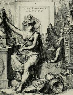 Etching from Hieroglyphica by Romeyn de Hooghe (10 September 1645 – 10 June 1708)