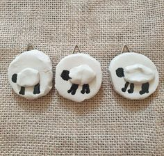 Unusual Gifts, Three Dimensional, Sheep, Stoneware, Miniatures, Pottery, Etsy Shop, Ceramics, Wall Art