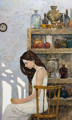 Denis Sarazhin /Денис Саражин, 1982   Contemporary Realist painter   Tutt'Art@   Pittura * Scultura * Poesia * Musica  