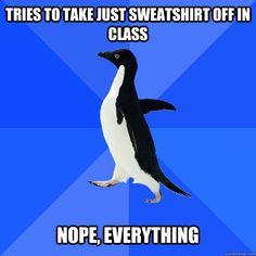 Meme: Socially Awkward Penguin