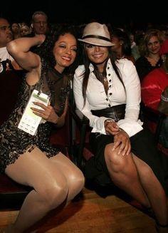 Diana Ross and Janet Jackson Jo Jackson, Jackson Family, Michael Jackson, Diana Ross, Black Celebrities, Celebs, Vintage Black Glamour, The Jacksons, I Love Music