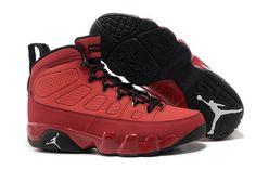 finest selection 9f912 66383 Original Herren Air Jordan 9 Retro Basketball Schuhe rot schwarz Buy  Jordans, Jordans For Men