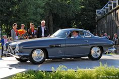 Fiat 8V Supersonic coupe Ghia 1953