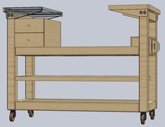 [Reportage]Dewalt et sa station d'accueil. - Page 5 Woodworking Blueprints, Woodworking Bench Plans, Woodworking Workshop, Woodworking Shop, Woodworking Projects, Workshop Bench, Workshop Storage, Tool Storage, Table Saw Workbench