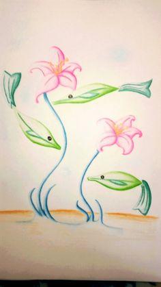 Ilustración surrealista - Pinturas de color