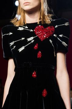 notordinaryfashion: Schiaparelli Haute Couture Fall 2014 Ginger Roger's Carefree movie inspired dress