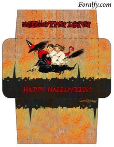 Happy Halloween Envelope