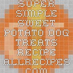 Super Simple Sweet Potato Dog Treats Recipe - Allrecipes.com