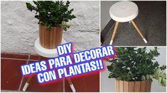 DIY: 2 IDEAS PARA DECORAR TU HOGAR EN VERANO 2020 CON RECICLAJE / El Blo... Ideas Para, The Creator, Diy, Blog, Home Decorations, Recycling, Summer Time, Spring, Bricolage