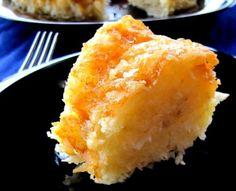 Aipim and Coconut Cake - bolo de aipim