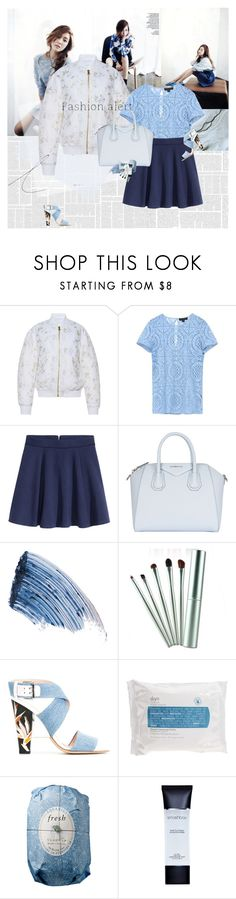 """""""Jessica Jung"""" by e-laysian ❤ liked on Polyvore featuring Francesco Scognamiglio, Burberry, H&M, Givenchy, Sisley - Paris, Fendi, Skyn Iceland, Fresh, Smashbox and philosophy"""