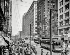 State Street, Chicago, c. 1912.