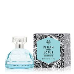 The Body Shop Fijian Water Lotus Eau de Toilette is a fresh fragrance inspired by the pure waters of Fiji. It features notes of water lotus, mandarin zest and ma. The Body Shop, Body Shop Australia, Lotus, Brand New Day, Beauty Packaging, Packaging Ideas, Fragrance Mist, Deodorant, Perfume Bottles