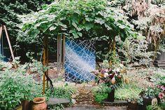 Mosaic-themed fall wedding inspiration | Photo by Sahara Coleman | Read more - http://www.100layercake.com/blog/?p=82012